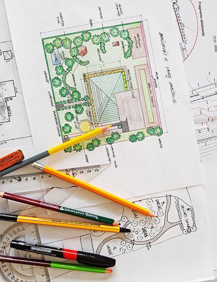 sodo-dizaino-projektai